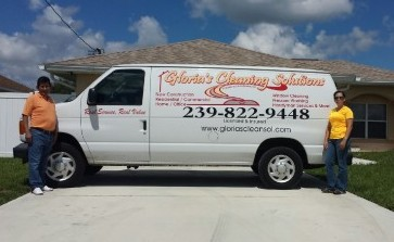 Cleaning Service Van Large
