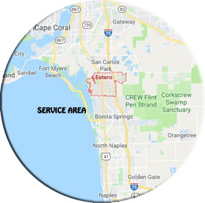 home cleaning service - service area